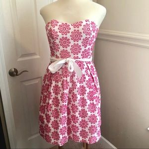 Lily Pulitzer | Strapless Flower Dress
